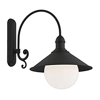 Außenlampe Wandleuchte 1x60W/E27 ERBA BIS 3286 Argon