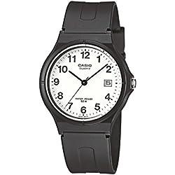 Casio Reloj Analógico de Cuarzo para Mujer con Correa de Resina – MW-59