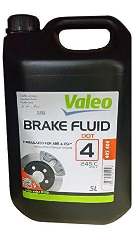 Liquide de freins 5 litres DOT4 Valéo 402404