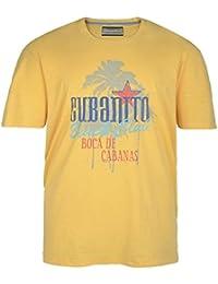 Camiseta Redfield en talla grande y color amarillo