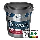ODYSSEE SATIN - GUITTET - Peinture satinée finition A Blanc - Satiné Poché 15.00Litre