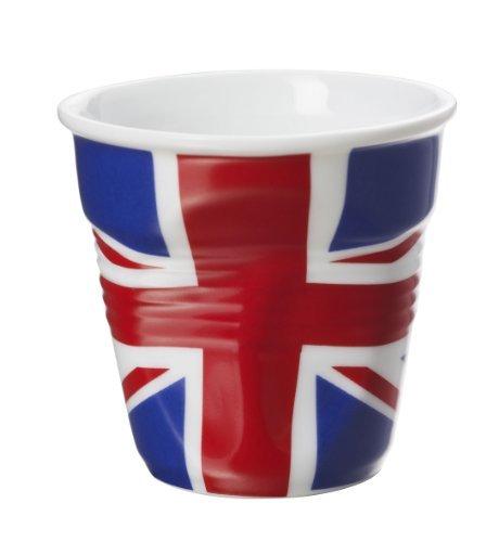 Revol Froisses 643221 Espresso Tumbler, UK Flag by Revol