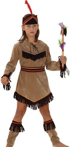 Kostüm Boot Abdeckung - Fyasa 706081-t02Indian Girl Kostüm, Mittel