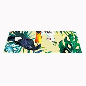 YJD Naturkautschuk-Yogamatte, Yogamatte-Länge 1830 * Breite 680 * Stärke 4mm Übungsmatte Pilates-Eignung-Matte Baby-kriechende Matte Yoga-Enthusiasten Yoga Hall GHJ