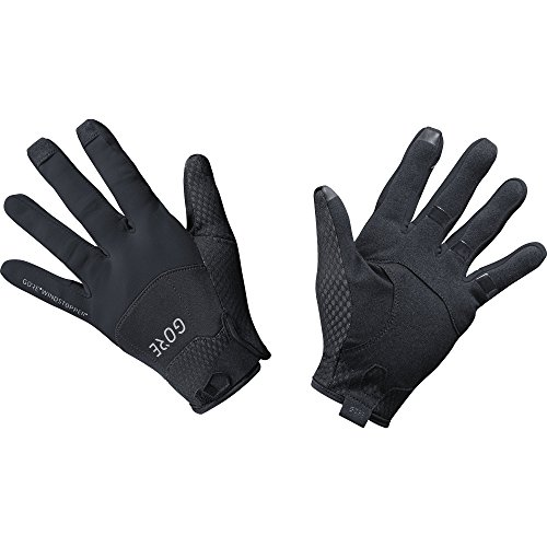 GORE Wear Winddichte Fahrrad-Handschuhe, C5 GORE WINDSTOPPER Gloves, Größe: 9, Farbe: Schwarz, 100125
