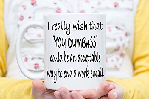 Kaffeebecher für das Büro, sarkastische Tasse, stupid Tasse, antisoziale Tasse, für Coworker,...