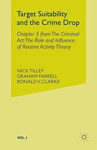 Target Suitability and the Crime Drop: Chapter 5 from The Criminal Act: The Role and Influence of Routine Activity Theory (English Edition) por N. Tilley