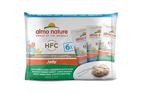 almo nature HFC Jelly Thon Humide Chat-6enveloppes