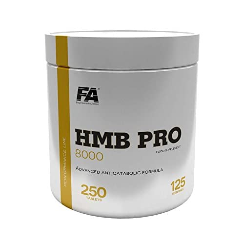 41nz3WAbKUL. SS500  - FA Engineered Nutrition HMB Pro 8000 Tablets - Pack of 250
