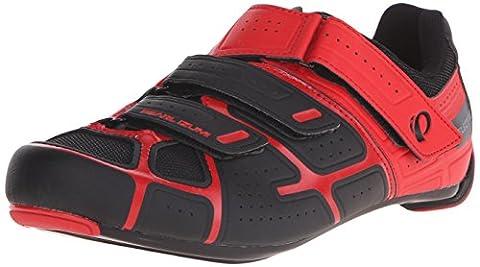 Chaussures Pearl Izumi Elite RD IV Rouge-Noir 2016