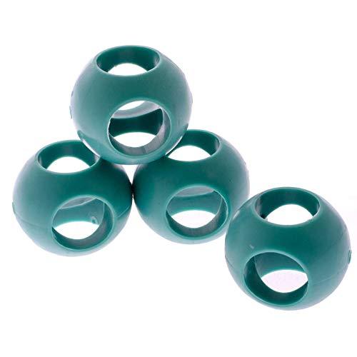 SIDCO Antikalk Kugel zum Entkalken Spülmaschine + Waschmaschine Magnetball 4 er Set