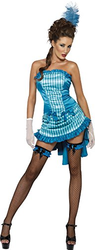 SMIFFYS Costume Carnevale Halloween Ragazza Can Can linea Fever Saloon - sexy donna