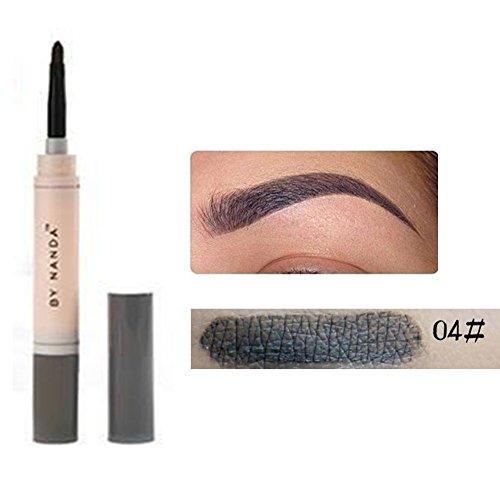 Dye Pomade crema cejas cejas lápiz de minerales larga duración resistente al agua marrón tinte pintura Henna Juego de cejas maquillaje Kit
