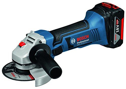 Preisvergleich Produktbild Bosch Professional Winkelschleifer GWS 18-125 V-LI (18 Volt, Leerlaufdrehzahl: 10.000 min -1, in LBoxx)