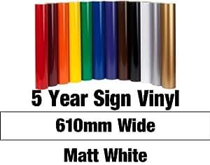 Avery Vinyle autocollant Blanc mat 2 m x 61 cm
