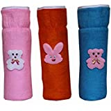 Kidzvilla New Born Baby Feeding Bottle Cover Cotton Fabric Cheks Print Pack of 3 Pcs. Flat For 220 to 250 ml Bottle Printed Bottle Cover Baby Bottle Cover Set Feeder Cover New Born Baby Fancy Bottle Cover Feeder Cover Nursing Cover Glass Bottle Cover Color May Vary (Multicolor)