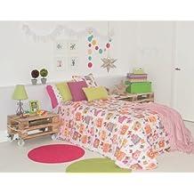 Clara Vidal-edredón conforter estampado infantil Ausam cama 90:180x270cm incluye funda de cojín de 50x50 cm OFERTA