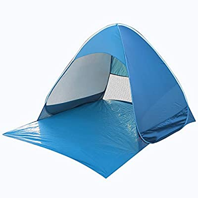 BIFY Pop-up Beach Tent Portable for1-3 Person,Automatic Instant Beach Tent Waterproof Anti-UV Shade Camping Tent for Beach, Garden, Camping, Fishing, Picnic from BIFY
