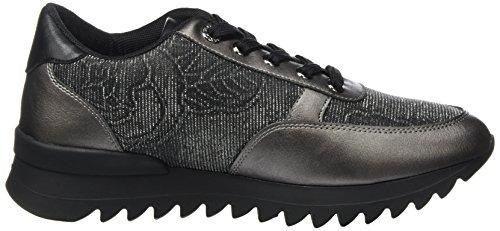 Armani Jeans Damen Sneaker Runner Schwarz (Nero)