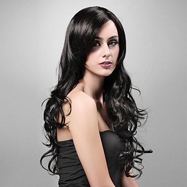 OOFAY JF ® senza cappuccio extra di alta qualità a lungo sguardo sintetico naturale parrucca n
