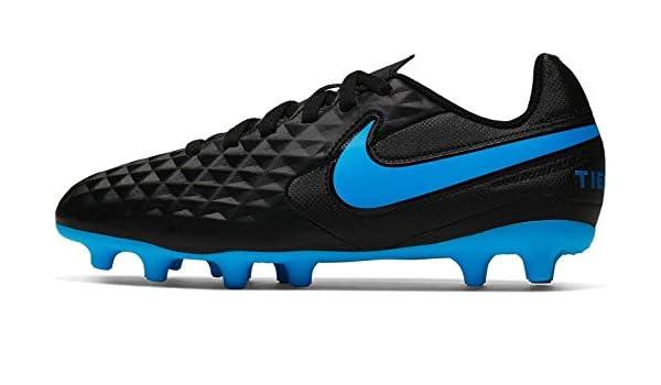 Nike Herren Fussball Nockenschuhe Tiempo Legend 8 Club FG MG schwarz blau, Größe:46