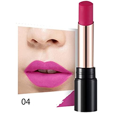 Fortan Sexy idratante Long Lasting impermeabile rossetto opaco trucco Glossy Lip Gloss - D