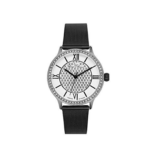 Orologio donna Yonger & Bresson bianca e nera–DCC 096s-3fm