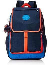 de5d7c6480 Kipling Women s Backpack - HARUKO Blue Orange Bl