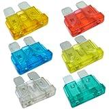 TOOGOO(R) 30 X Mezclado Amp Mini Fusibles Cuchilla para Coche Moto Atm Auto
