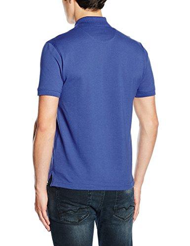 Toro Herren Poloshirt Polo M/C Liso Basico Sin Bandera blau (AZUL ITALIA)