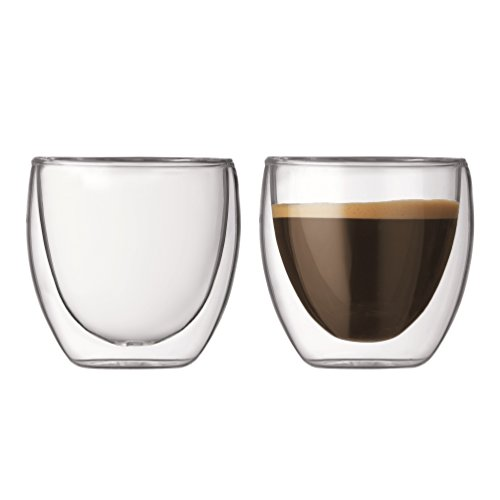 Bodum Pavina Double Walled Thermo Glasses, Set of 2 41nzDpJoCQL