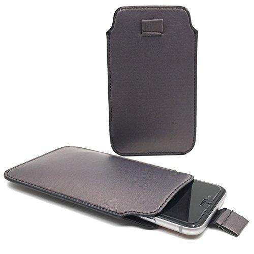 Handy Hülle Slide Tasche Etui Case Schutzhülle Bumper Cover Sleeve Universal Neu, Motive:Onyx Schwarz, Handymodell:Gionee Ctrl V5