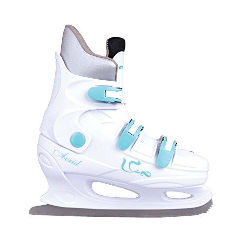 Schlittschuhe, Eiskunstlauf Schlittschuhe ACRID RENT weiß Spokey