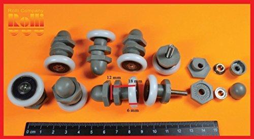 Eccentrico ruote,rotelle,cuscinetti di ricambio per box doccia cabina B24 22mm