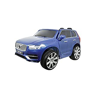 AUTOSTYLE 9024996 Battery-Car Volvo XC90 Blue-12V-incl. MP3 and Remote Control-from 3 Years up, Blue
