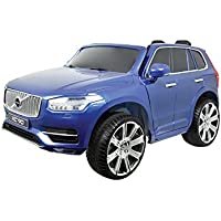 AUTOSTYLE 9024996 Battery-Car Volvo XC90 Blue-12V-incl. MP3 and Remote Control-from 3 Years up, Blue preiswert