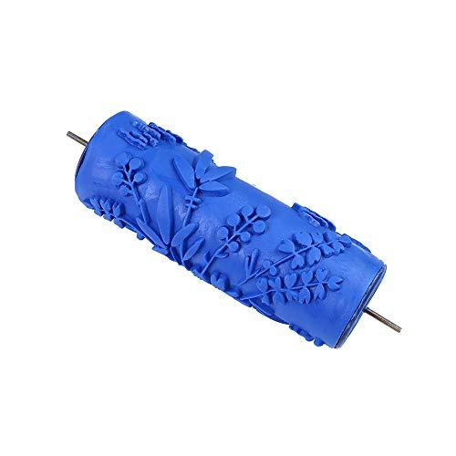 kkmoon rullo da pittura utensili per la pittura murale a grana del legno decorazione fai da te rotolo di gomma arte della parete rullo di gomma pittura murale carta da parati strumenti di decorazione