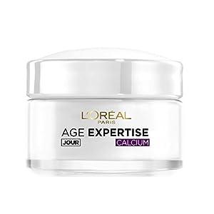 L'Oréal Paris – Age Expertise – Soin Jour Hydratant Anti-Rides Redensifiant au Calcium – 55 ans+ – 50 mL