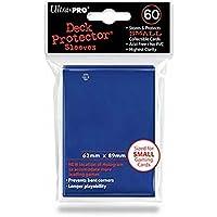 Ultra Pro - 330519 - Jeu De Cartes - Housse De Protection - Petit - Bleu - 60 Pièces - D10