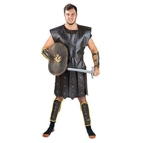 Bodysocks® Gladiator Kostüm für Herren (Weibliche Soldat Halloween-kostüm)