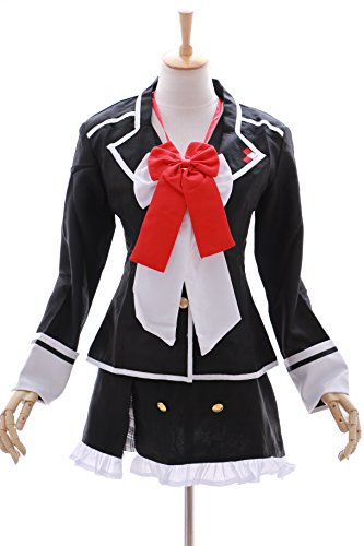 MN-08 Diabolik Lovers Yui Komori Schuluniform Schooluniform Cosplay Set Kostüm (Japan Size (Kostüm Diabolik Cosplay Lovers)