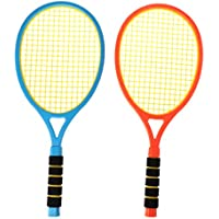 Guoyy Neue Zwei-in-One Mini Schöne Kinder Tennisschläger Kinder Ball Spielzeug Badminton Spielzeug Outdoor-Freizeit