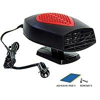 Lanceasy 12 V Auto Elektrische Heizung Ventilator Luftreiniger Warm Defogging Auto Mini Heizl/üfter grau