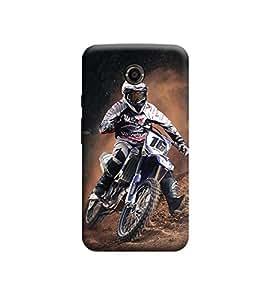 Ebby Premium Printed Back Case Cover With Full protection For Motorola Moto X2 (Designer Case)