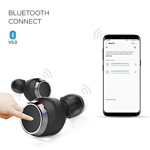 Blaupunkt BTW01 True Wireless HD Sound Bluetooth Earbuds with Touch Controls Image 8
