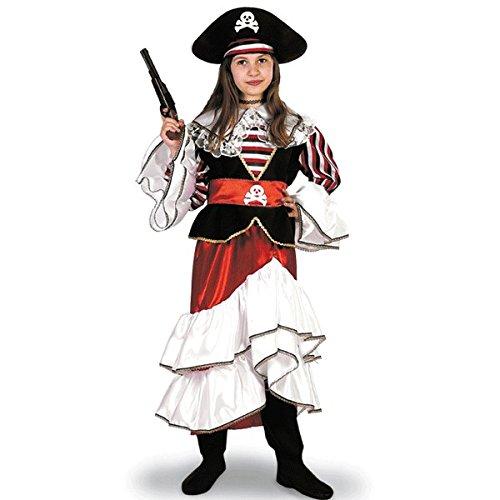 Königin Kostüm Piraten - Kostüm Karnevalskostüm die Königin der Piraten 12-13 years