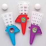 Baker Ross Christmas Pop \'n\' Catch Games (Pack of 6) For Kids Stocking Filler or Gift Ideas