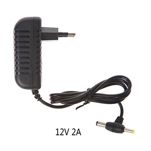 Jenor 12 V 2 A AC Konverter Adapter DC 5,5 x 2,1 mm + 4,0 x 1,7 mm Netzkabel EU Stecker Internationale Ac Power Adapter-kit