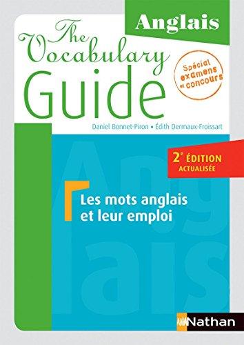 The Vocabulary Guide par Daniel Bonnet-Piron