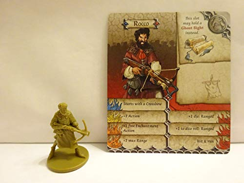 FidgetGear Zombicide Green Horde - Rocco - Exklusive Charakter Figur as picture show One